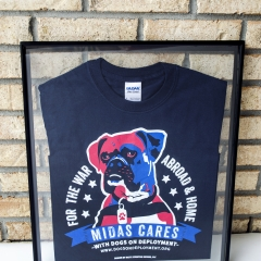 Midas Cares Shirt Design
