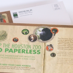 Houton Zoo Go Paperless Mailer