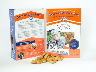 Lazy Dog Cookie Co. Dog Treat Packaging