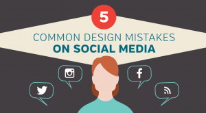 5 most common design mistakes on social media