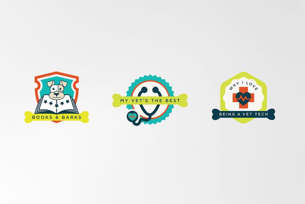 pet logos, pet branding, animal infographics, pet badge, badge dedsign