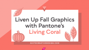 Liven Up Fall Graphics with Pantone's Living Coral