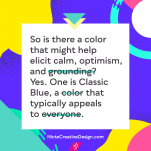 Use Pantone's Classic Blue to Comfort Your Brand Audience