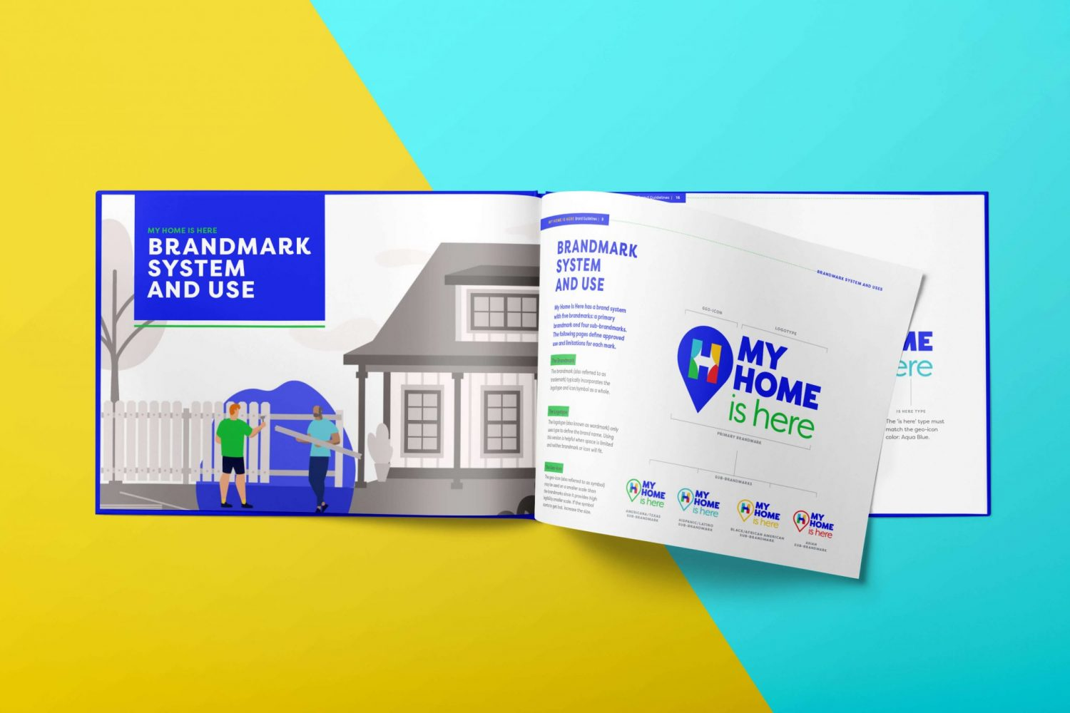 My Home is Here Branding by Nicte Creative Design