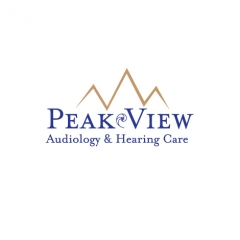 Peak view Audiology <span class=&quot;amp&quot;>&amp;</span> Hearing logo